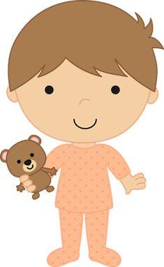 Dibujos. Clipart. Digi stamps - Children - Boy - Niño