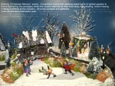▶ Christmas Delivery - YouTube -this man create the most amazing viliages - it looks as if it is modeled after a specific place & time!