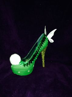 Tinker Bell Custom Rhinestone Heels/ Wedding/ by AWhimsicalHoot, $350.00