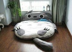 就算没看过宫崎骏动画的热闹也会一眼喜欢上这张可爱滴床吧~