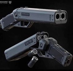 Neural Entropy - Punisher by Ivan Santic via. Sci Fi Weapons, Concept Weapons, Weapons Guns, Fantasy Weapons, Guns And Ammo, Future Weapons, Military Guns, Cool Guns, Punisher