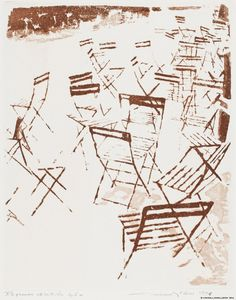 Pietilä, Tuulikki Tuilleries'n tuoleja, Pariisi (Bagatelles II) 1976