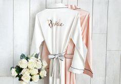 Solid Bridesmaid Robes Bridal Robe Set of Bridesmaids Bridesmaid Robes Cheap, Bridesmaids, Bridesmaid Dresses, Bridal Squad, Bridal Party Robes, Personalized Bridesmaid Gifts, Bridal Showers, Mix Match, Etsy