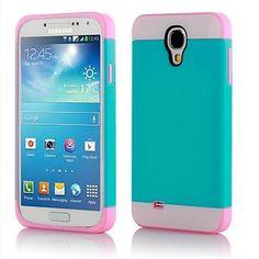 Ultra Slim Cute Hybrid Skin Snap-on Case Cover for Samsung Galaxy S4 I9500 - USD $ 14.99