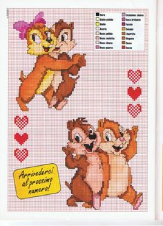 Chip 'n' Dale e Cindy