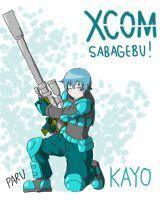 XCOM Sabagebu! Kayo by HaloCapella