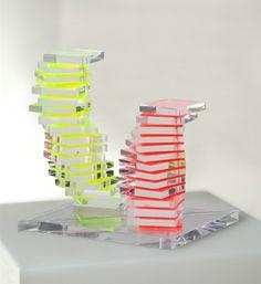Galleria Marelia - Milo Renato, Movibile due, 2008, plexiglas, cm 35x35x18