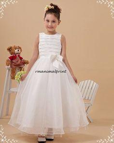 Resultado de imagen para vestidos para niñas del cortejo