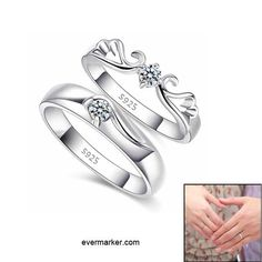 To Be Together Lover Rings