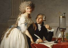 Detail from Antoine-Laurent Lavoisier (1743–1794) and His Wife (Marie-Anne-Pierrette Paulze, 1758–1836), 1788  Jacques-Louis David (French, 1748–1825)  Oil on canvas