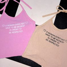 RESPECT ALL WOMEN HALTER BACK IN STOCK #omighty www.o-mighty.com @omightyshop