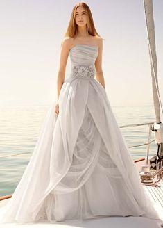 colored bidal dress