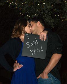 I said yes! chalkboard
