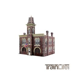 N Scale: Fire Station No. 3 Kit