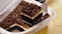 Marbled Cheesecake Brownie Dessert recipe from Betty Crocker