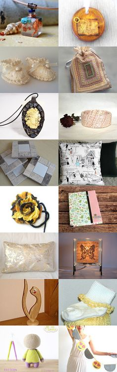 Pastel Yellow by Vilma Matuleviciene on Etsy--Pinned+with+TreasuryPin.com