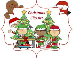 Christmas Clip Art  ~~  FREE!!!  All of the clip art on this site is free!!  WOW!