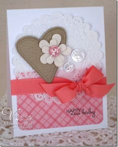Happy New Baby, but the layout is versatile. Just change the sentiment, could be valentine,birthday, or anniversary card. Nice!