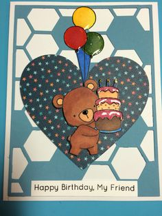 MFT birthday bear