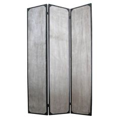 Screen Gems Industrial Panel Room Divider - 47W x 71H in. - SG-210A