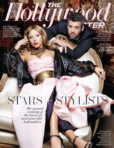Lady Gaga and Brandon Maxwell grace the cover of The Hollywood Reporter.