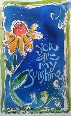 Art journal inspiration, medium art, art journals, art journal pages, Kunstjournal Inspiration, Art Journal Inspiration, Art Journal Pages, Art Journals, Guache, Watercolor Cards, Whimsical Art, Art Plastique, My Sunshine
