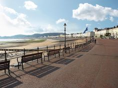 Llandudno Promenade, North Wales - Find our store at 71 Mostyn Street, Wales, Wales Uk, North Wales, Places To Travel, Places To See, Snowdonia, Anglesey, Wales Holiday, Visit Wales, Cornwall England