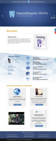extrait de la maquette du site web futur de descodificacion dental Affordable Dental, Web Design, Site Web, Future, Mockup, Design Web, Website Designs, Site Design