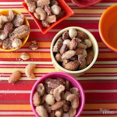 Sweet-and-Hot Nuts Easy Slow Cooker Appetizers Slow Cooker Appetizers, Cold Appetizers, Slow Cooker Recipes, Appetizer Recipes, Crockpot Recipes, Cooking Recipes, Easiest Appetizers, Popular Appetizers, Wedding Appetizers