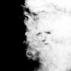 Clint Eastwood as a cloud of smoke /  Inez van Lamsweerde and Vinoodh Matadin
