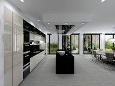 Modern home design Ultra Modern Homes, Modern Luxury, Kitchen Planner, Interior Architecture, Interior Design, Modern Room, Modern House Design, Luxury Living, Kitchen Extensions