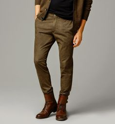 Cultures Hommes: Pantalon Chino Twill Massimo Dutti