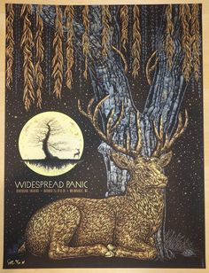 """Widespread Panic - silkscreen concert poster (click image for more detail) Artist: Todd Slater Venue: Riverside Theatre Location: Milwaukee, WI Concert Date: 10/23-25/2015 Size: 18"""" x 24"""" Edition: Art"""