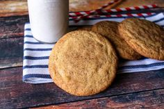The Best Snickerdoodles #cinnamon #cookie #sugar #chewy #snickerdoodle #Snickerdoodles #justapinchrecipes #cookiessnickerdoodle