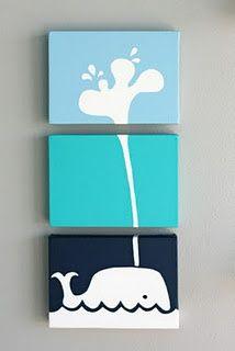 DIY canvas pictures @ DIY Home Ideas
