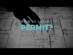 When do you and don't you need a permit in King County? What Is Interior Design, King County, Design Process, Home Projects, Youtube, Engineering Design Process, Youtubers, House Projects, Youtube Movies