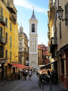 St. Reparate Cathedral, Place Rosseti, Old Town, Nice