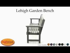 Elegant back styling makes this bench an impressive addition to any area and the contoured seat adds to the comfort level.