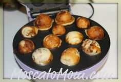 Cinnamon Roll Cake Pops  1.  Cut Pillsbury Cinnamon Rolls in quarters.  2.  Place each in the Baby Cake Cake Pop Maker and cook about 3 minutes.  3.  Melt the icing that comes with the cinnamon rolls and dip each pop in the melted icing.