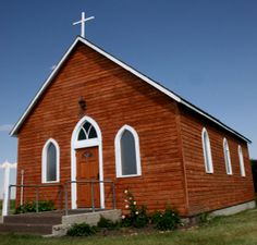 African American church in rural Mississippi