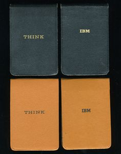 Original THINK notepads