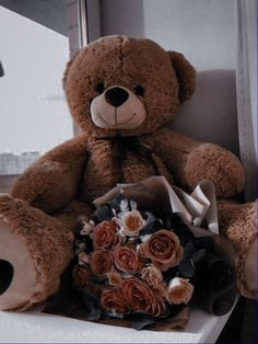 19th Birthday, Diy Birthday, Birthday Gifts, Cat Aesthetic, Flower Aesthetic, Cute Little Baby, Little Babies, Tedy Bear, Giant Teddy Bear