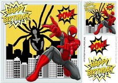 Spider hero silver man is in the city 8x8 by Nick Bowley Spider hero silver man is in the city 8x8 with topper makes a great card can be seen in Bumper kit nos 3 lots of other deisigns to see