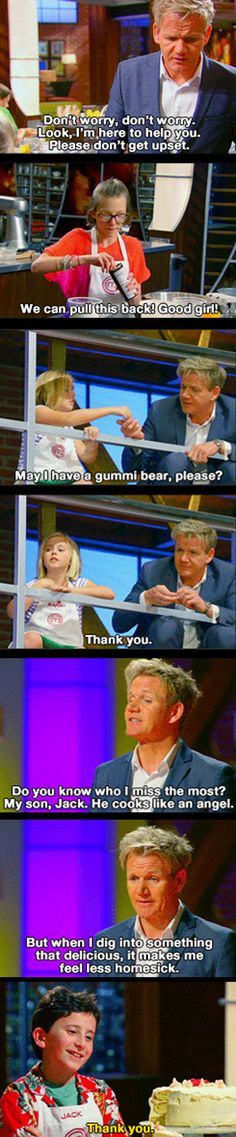 How Gordon Ramsay deals with kids  - funny pictures #funnypictures