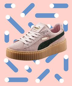 Puma Best Selling Sold Out Fenty Creepers | When Puma collaborates with Rihanna, it's no surprise the shoes have flown off the shelves. #refinery29 http://www.refinery29.com/puma-creepers-best-sellers