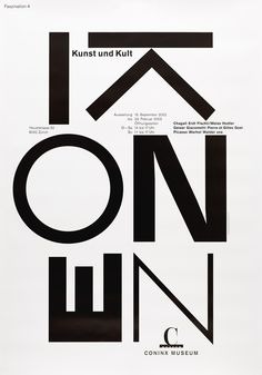 Coninx Museum Exibithion Posters by Gottschalk+Ash International,1990