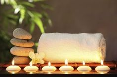 """Songs : Yoga Music 3 HOURS Relaxing Music """"Evening Meditation"""" Background for Yoga, Massage, Spa - Fitness & Diets : Move it Or Lose It source for fitness Motivation & News Spa Inspired Bathroom, Spa Like Bathroom, Bathroom Ideas, Bathroom Designs, Zen Bathroom Decor, Bathroom Candles, Spa Bathrooms, Luxury Bathrooms, Bathroom Mirrors"""
