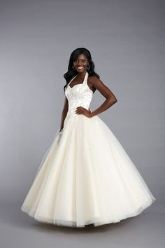 Fabulous full skirted prom dress by Tiffanys UK