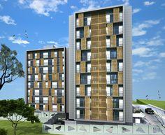 RS apartments, Istanbul. Ennac Architects