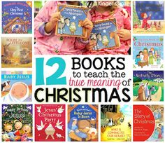 12 books to teach young children the True Meaning of Christmas